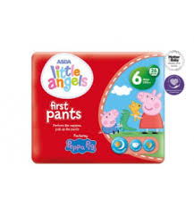 Asda Little Angel Peppa Pig First Pants Size 6 Coming Soon Sme